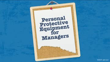 08. PPE for Managers