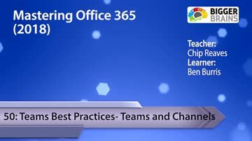 Teams Best Practices - Teams and Channels