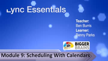Scheduling With Calendars