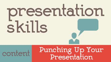 Punching up your presentation