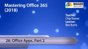 Office Apps, Part 2