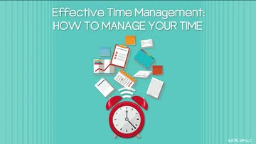 01. How to Manage Your Time
