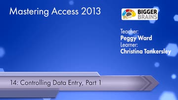 Controlling Data Entry: Part 1