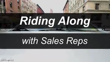 Riding Along with Sales Reps