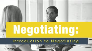 01. Introduction to Negotiating