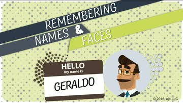 Remembering Names and Faces