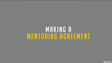 04. Making a Mentoring Agreement