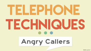 Handling Angry Callers