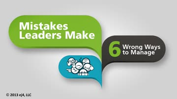 Six Wrong Ways to Manage