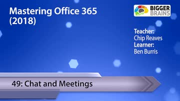 Chat and Meetings