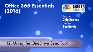 Using the OneDrive Sync Tool