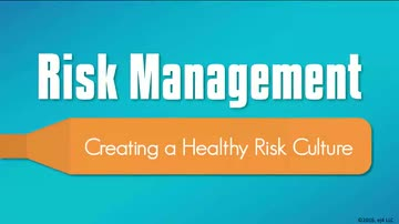 05. Healthy Risk Culture