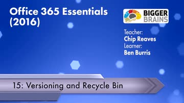 Versioning and Recycle Bin
