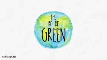 The ROI of Green