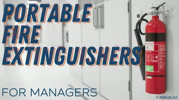 Portable Fire Extinguishers for Managers