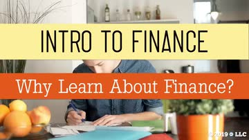 Why Learn About Finance?