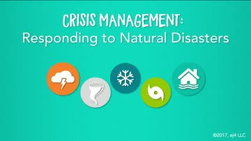 03. Responding to Natural Disasters
