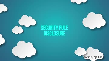 7. The Security Rule