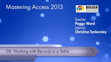 Working With Records In A Table