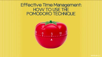 03. How To Use the Pomodoro Technique